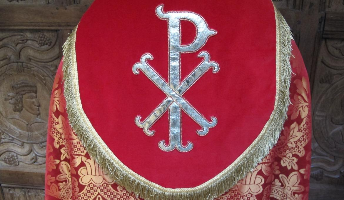 A picture of textile work by the Norwich Cathedral Broderers