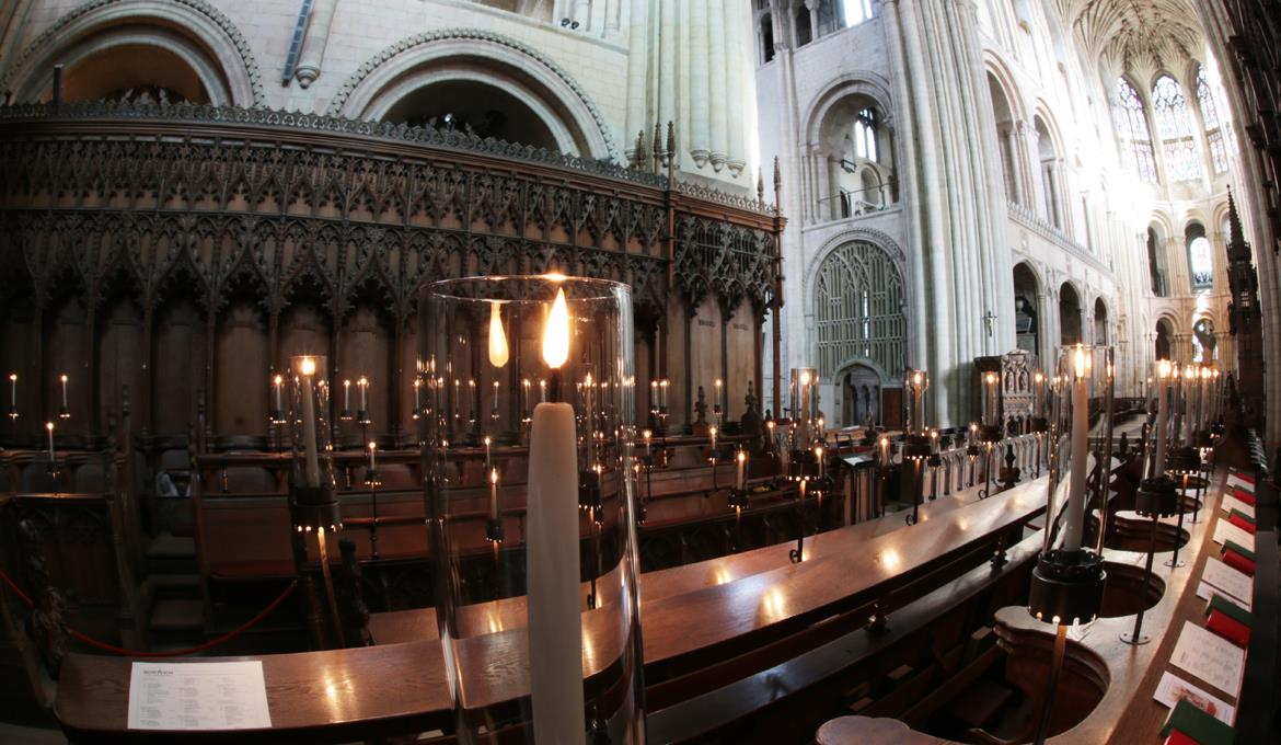 A picture of the Choir at Norwich Cathedral