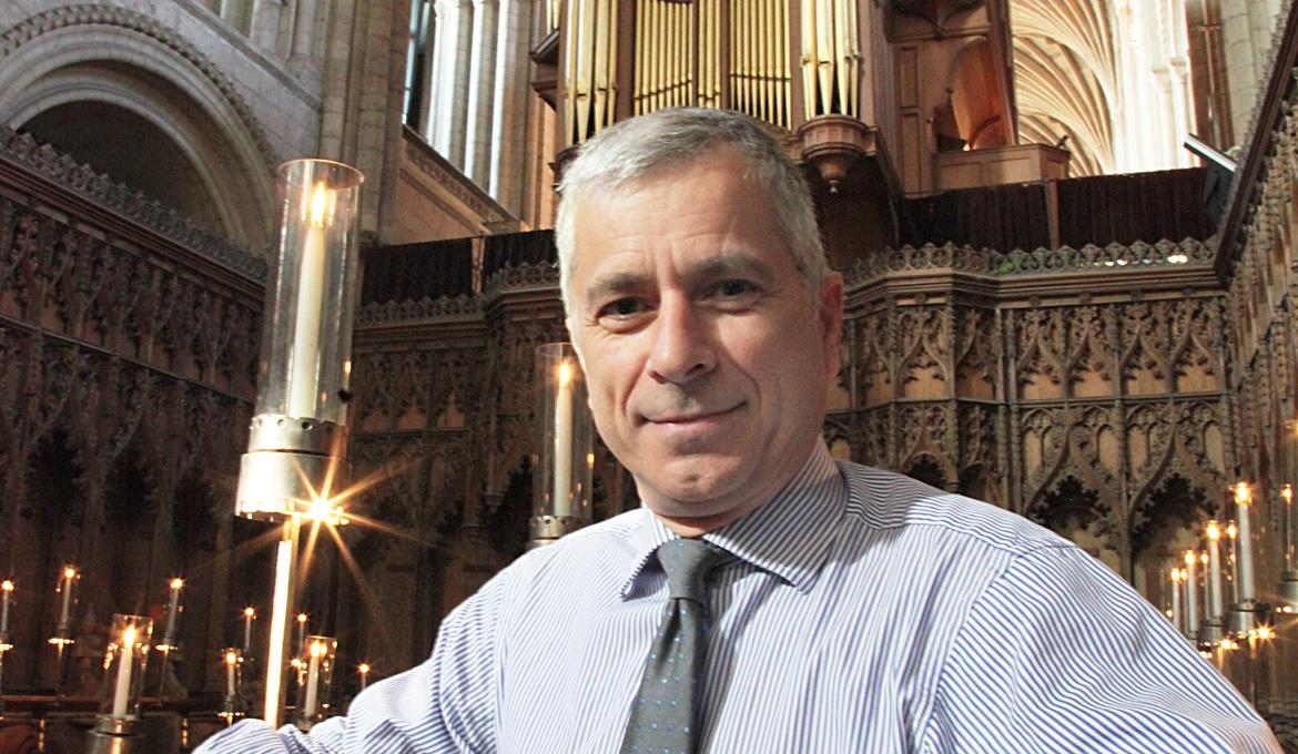 A picture of Cathedral Organist, David Dunnett