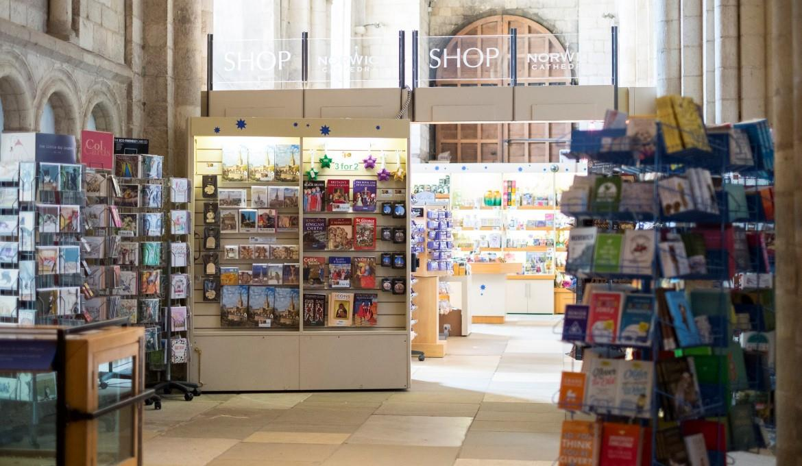 A picture of the Gift Shop at Norwich Cathedral