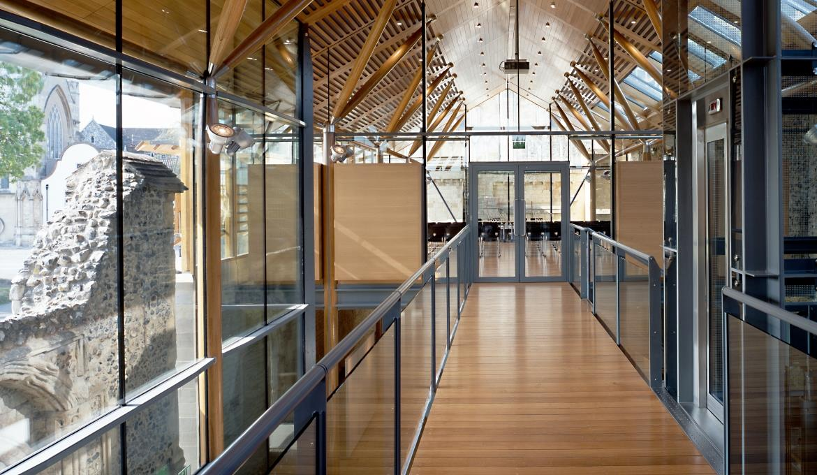 A picture of the stunning facilities on offer at the Cathedral Hostry