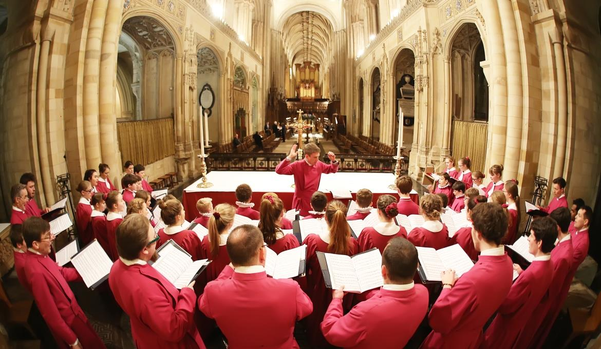 A picture of Norwich Cathedral Choir
