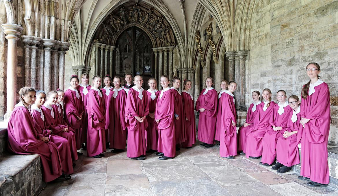 A picture of the Norwich Cathedral Girls' Choir