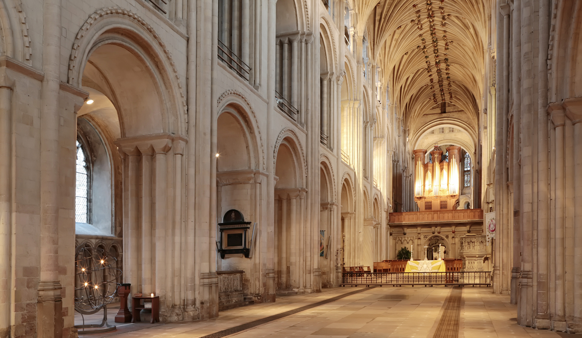 A picture of the Cathedral Nave