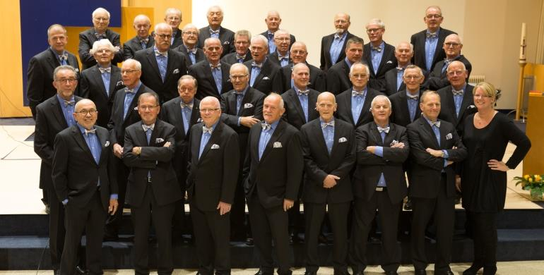 A picture of the Christian Mens Choir Leek