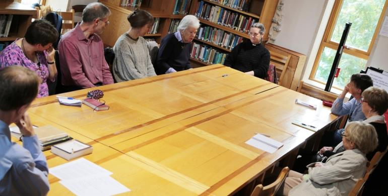 A picture of an NCCL event in the Library