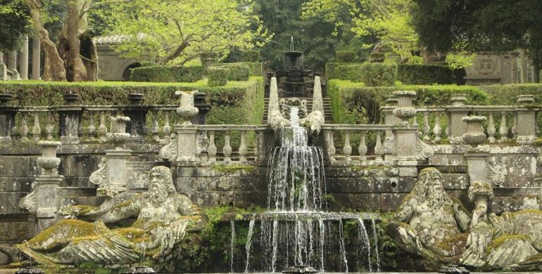 A Picture of a Water Feature in a Landscape Garden