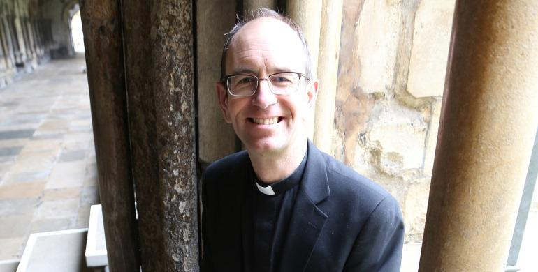 A picture of the Reverend Canon Keith James