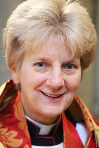 A picture of the Dean of Norwich, Jane Hedges