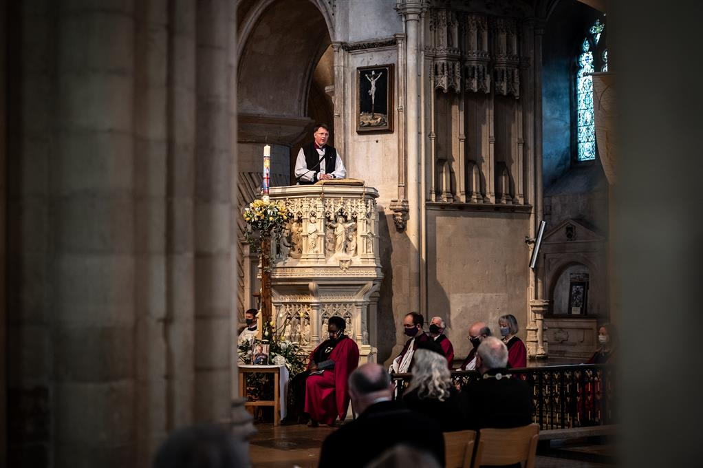 Choral Evensong on the Eve of the Funeral of The Duke of Edinburgh