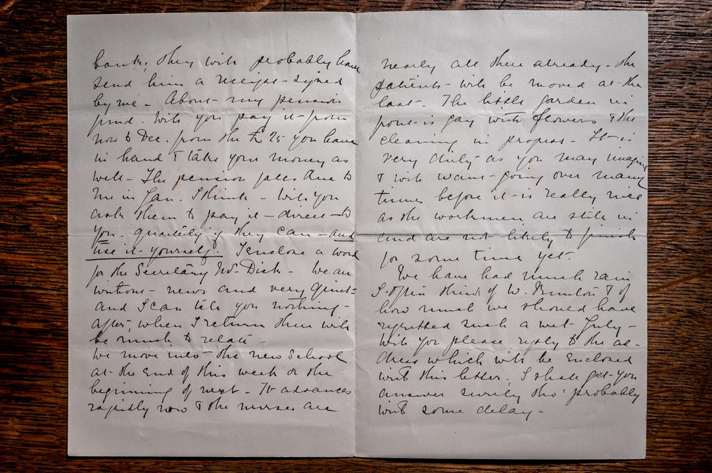 Page 3 and 4 of Edith Cavell letter (c) Bill Smith_Norwich Cathedral